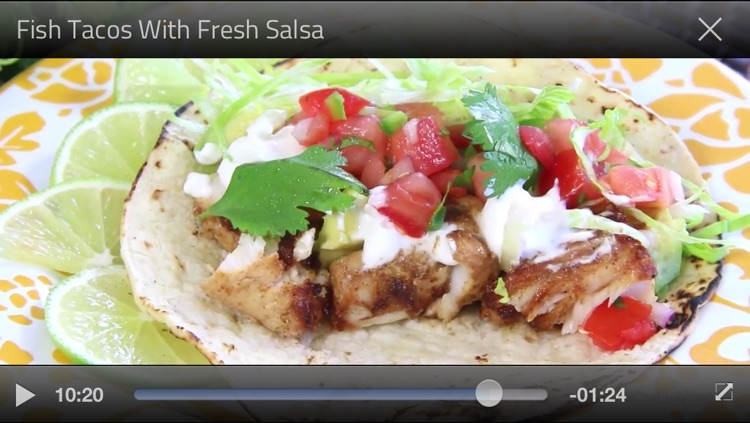 Mexican recipes by fawesome.tv screenshot-4
