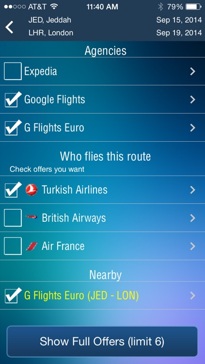Jeddah Airport - Flight Tracker Premium airlines JED Saudi Arabian screenshot-3