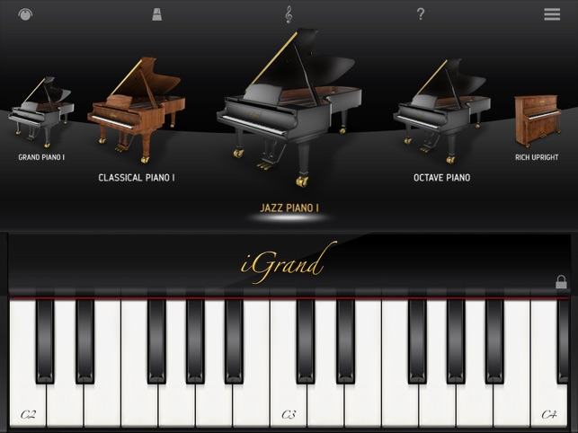 iGrand Piano FREE for iPad on the App Store