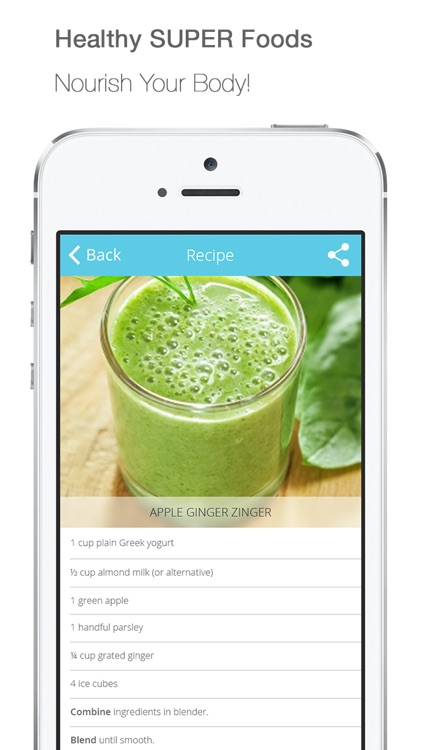 PRO! Healthy Detox Smoothies, Protien Shakes & Clean Vegetarian Juice Recipes screenshot-4