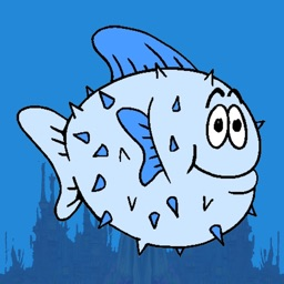 Blue Fish - The Adventure of a Tiny Porcupine Fish