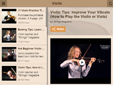 Violin Lessons - Learn How To Play Violin | App Price Drops