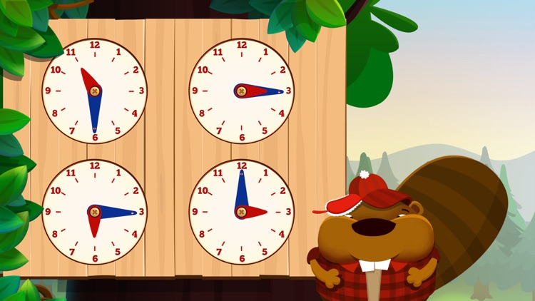 Tic Toc Time: Break down the day to learn how to tell time screenshot-3