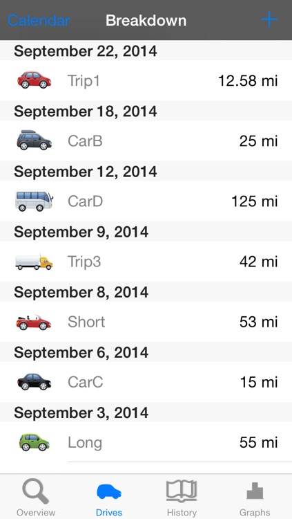 Mile Pal - Car mileage tracker & log screenshot-1