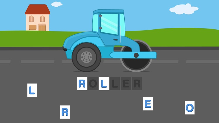 First Words Trucks and Things That Go - Educational Alphabet Shape Puzzle for Toddlers and Preschool Kids Learning ABCs Free