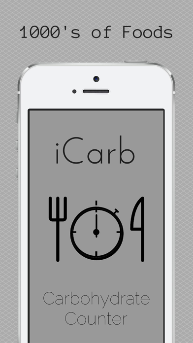 iCarb Carbohydrate and Calorie Countersのおすすめ画像1