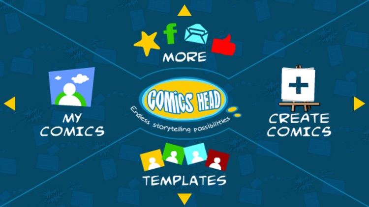 Comics Head for iPhone