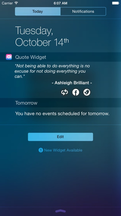 Quote Widget - Collections of Inspiring Famous Quote everyday