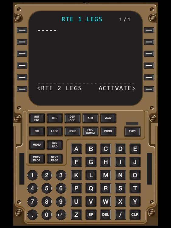 Virtual CDU 747 screenshot-4