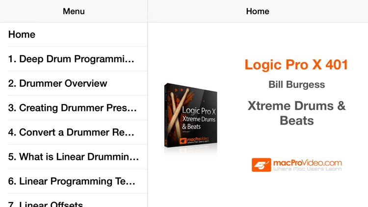 Xtreme Drums & Beats Course For Logic Pro X screenshot-3