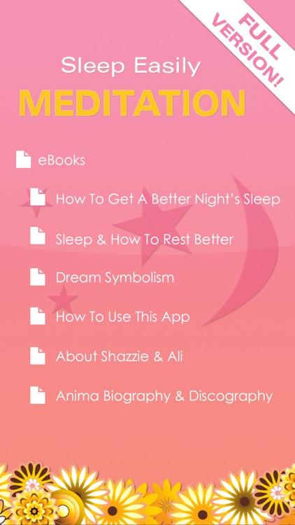 Sleep Easily Meditation by Shazzie - Full Version screenshot-3