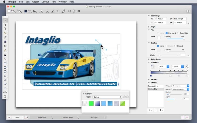 Intaglio Screenshot