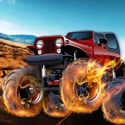 A Doodle Monster Truck Epic Desert Escapade