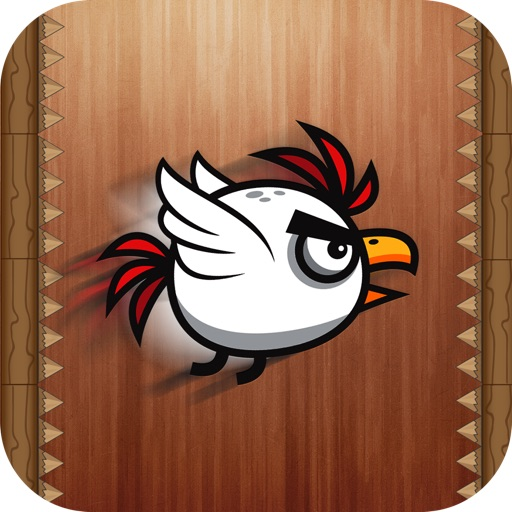Dont Touch Wood - Bird Must Live! Keep it flappy