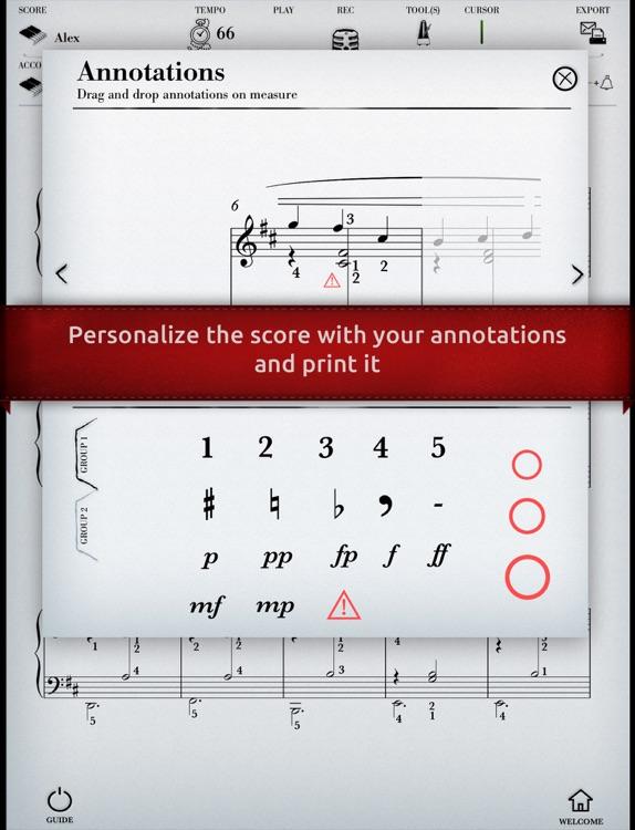 Play Satie – Gymnopedie No. 1 (interactive piano sheet music) screenshot-3