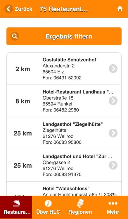 Gastroguide Hessen à la carte