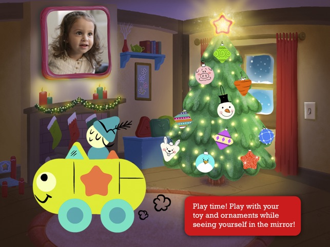 tiggly christmas fun creative holiday game for preschool kids on the app store