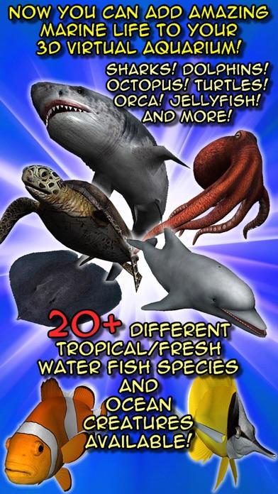 Screenshot for my Fish 3D Virtual Aquarium (Gold Edition) in Jordan App Store