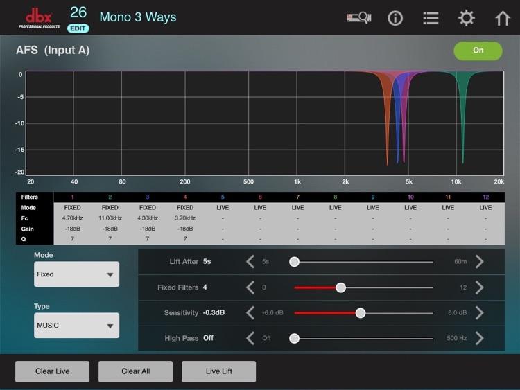 DriveRack VENU360 Control screenshot-4