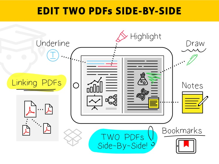 Easy Annotate - Split Screen Dual PDF Editor for Annotating and Linking Two Documents screenshot-4