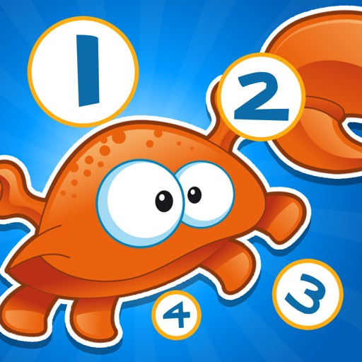 Активный! Подсчет Игра Для Детей С Морскими Животными, Чтобы Узнать Рассчитывать