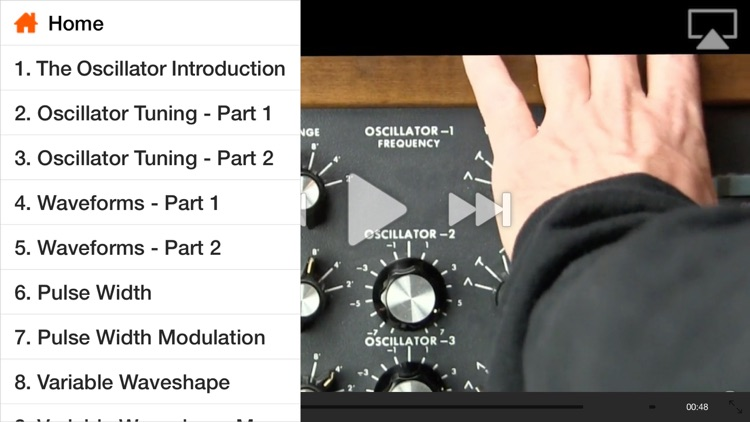 The Oscillator - Foundation Of Synthesis screenshot-1