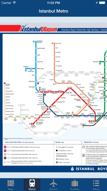 Istanbul Offline Map - City Metro Airport and Travel Plan