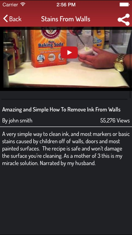 Remove Stains - Stains Removal Techniques