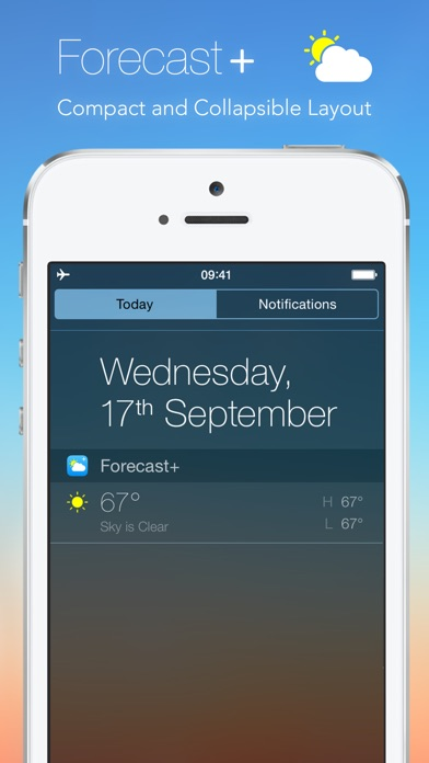 Forecast+ | Weather & Forecast Widget Screenshot