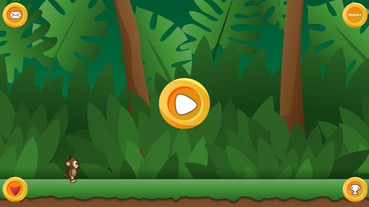 Monkey Run - The Endless Marathon Game screenshot-3