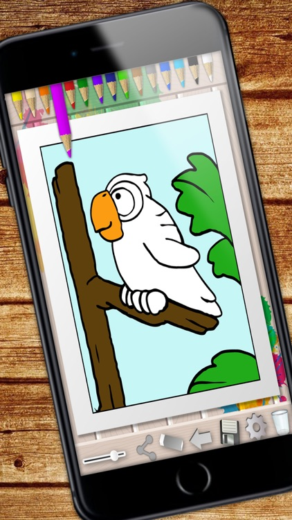 Coloring Book - color and paint drawings screenshot-4