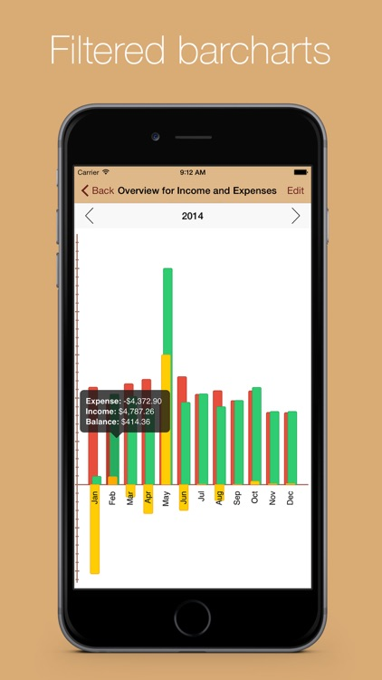 MoneyStats - Personal & mobile finance management and tracking application screenshot-3