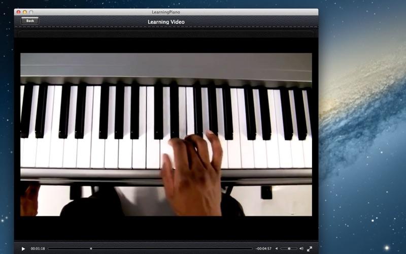 Learning Piano screenshot 3