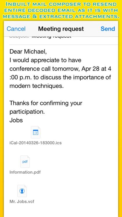 Winmail Reader screenshot-3