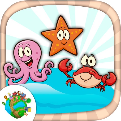 Color aquatic and sea animals - coloring books iOS App