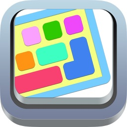 OneKeyboard Pro: colorful, predictive custom keyboard with autocorrect