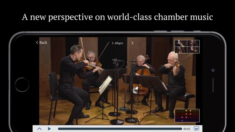 Juilliard String Quartet – An Exploration of Schubert's Death and the Maiden screenshot-0