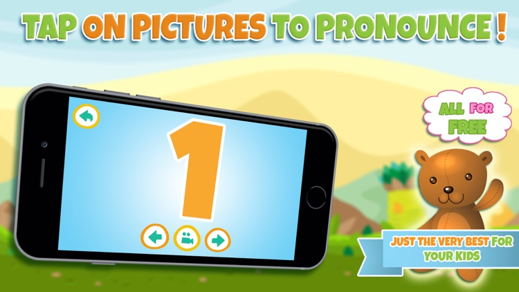 Learn numbers - Educational game for toddler kids & preschool children