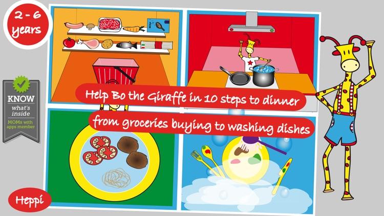 Bo's Dinnertime Story screenshot-0