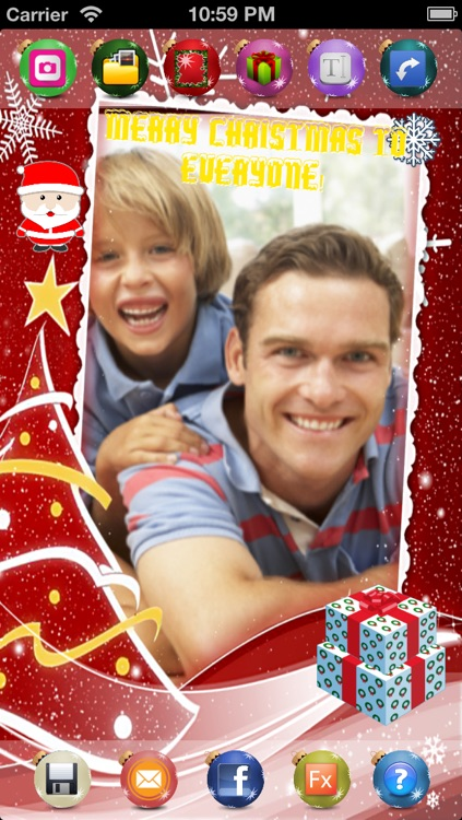 Xmas Photo - share your Christmas Greetings - lite screenshot-2