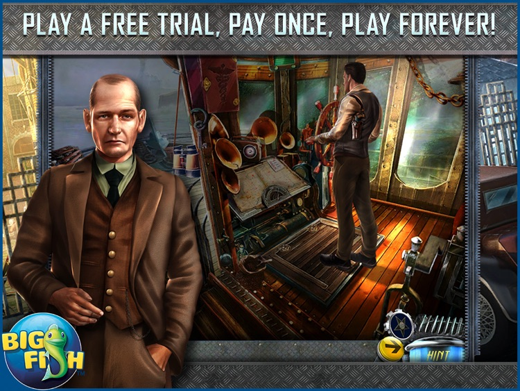 Dead Reckoning: Silvermoon Isle HD - A Hidden Objects Detective Game