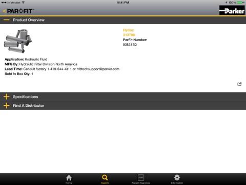 Parker Par Fit Interchangeable Filter Elements | App Price Drops