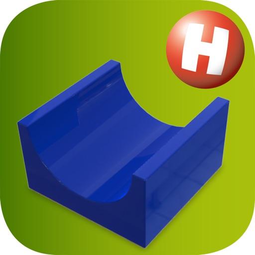 Kugelbahn 3D von Hubelino
