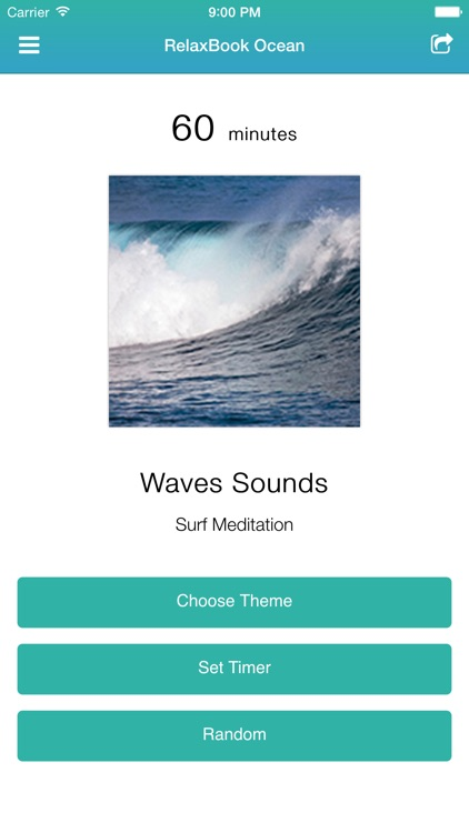 RelaxBook Ocean - Sleep sounds for you to relax with waves, ocean, birds and more
