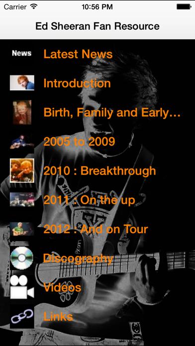 Ed Sheeran Fan Resourceのおすすめ画像1