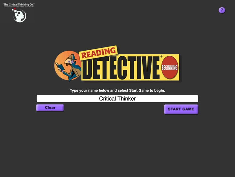 Reading Detective® Beginning screenshot-0