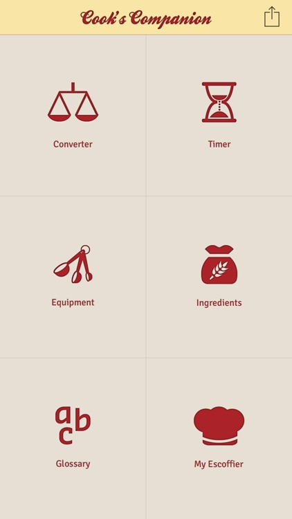 Escoffier Cook's Companion screenshot-1