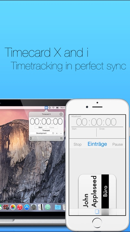 Timecard i - 1 Click Time Tracking