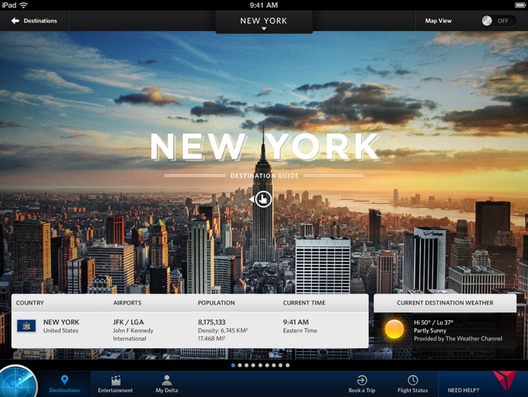Fly Delta for iPad