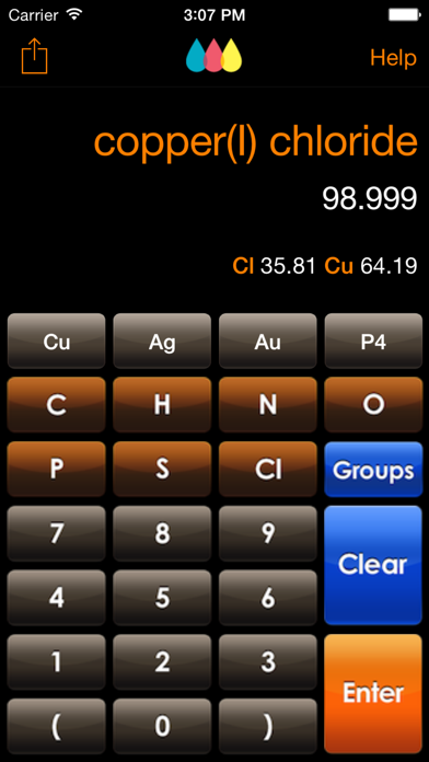 ChemTrix Chemistry Calculatorのおすすめ画像1